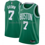 Maglie NBA Boston Celtics 2018 Canotte Jaylen Brown 7# Icon Edition..